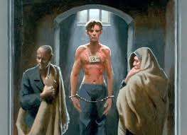 images jesus imprisoned